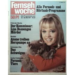 Fernsehwoche Nr. 21 / 22 bis 28 Mai 1971 - Hanni Vanhaiden