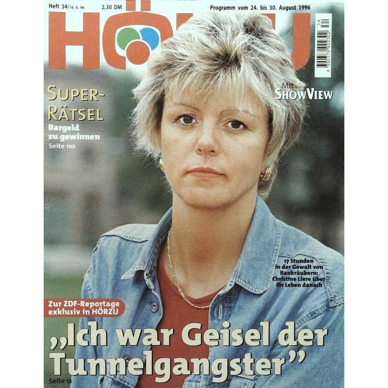 HÖRZU 34 / 24 bis 30 August 1996 - Christine Liere