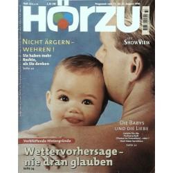 HÖRZU 33 / 17 bis 23 August 1996 - Die Babys und die Liebe