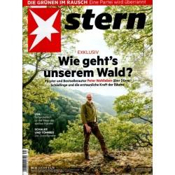 stern Heft Nr.35 / 22 August 2019 - Wie gehts unserem Wald?