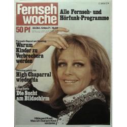 Fernsehwoche Nr. 44 / 30 Okt. bis 5 Nov. 1971 - Hildegard Knef