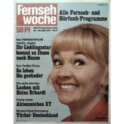 Fernsehwoche Nr. 17 / 24 bis 30 April 1971 - Lilo Pulver