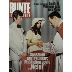 BUNTE Illustrierte Nr.31 / 27 Juli 1971 - Mara Palvarini