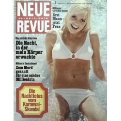 Neue Revue Nr.5 / 1 Februar 1970 - Die Nacktfotos