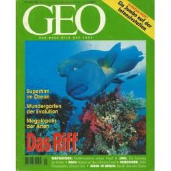 Geo Nr. 5 / Mai 1995 - Das Riff