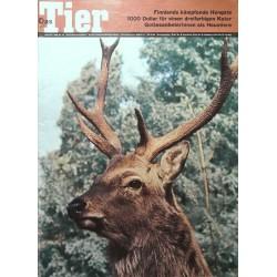 Das Tier Nr.10 / Oktober 1968 - Dybowski-Hirsch