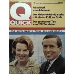 Quick Heft Nr.19 / 7 Mai 1967 - Kronprinzessin Beatrix