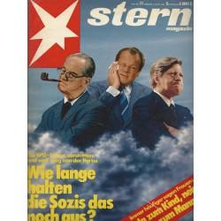 stern Heft Nr.17 / 15 April 1981 - Wie lange halten die Sozis das noch aus?
