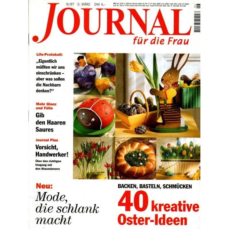 Journal Nr.6 / 5 März 1997 - 40 kreative Oster Ideen