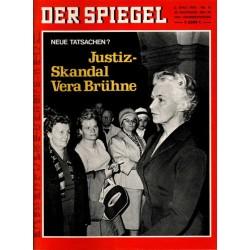 Der Spiegel Nr.15 / 6 April 1970 - Vera Brühne