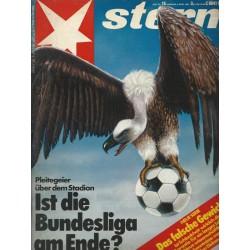 stern Heft Nr.16 / 9 April 1981 - Pleitegeier über dem Stadion