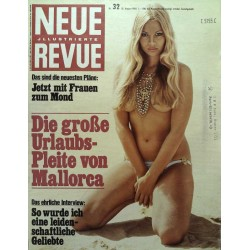 Neue Revue Nr.32 / 10 August 1969 - Frauen zum Mond