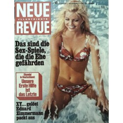 Neue Revue Nr.41 / 12 Oktober 1969 - Sex-Spiele