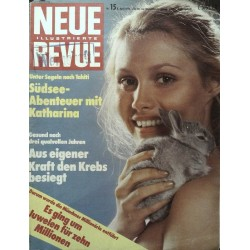 Neue Revue Nr.15 / 8 April 1974 - Südsee Abenteuer