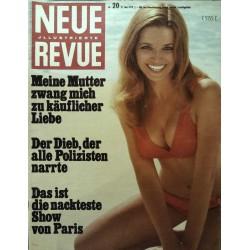 Neue Revue Nr.20 / 17 Mai 1970 - Die nackteste Show