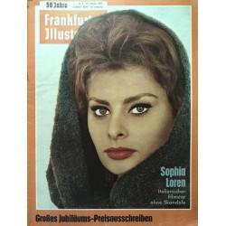 Frankfurter Illustrierte Nr.8 / 25 Februar 1962 - Sophia Loren