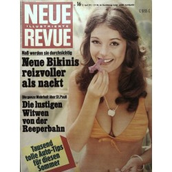 Neue Revue Nr.16 / 15 April 1972 - Neue Bikinis