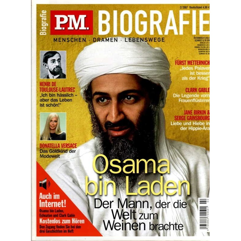 P.M. Biografie Nr.2 / 2007 - Osama bin Laden