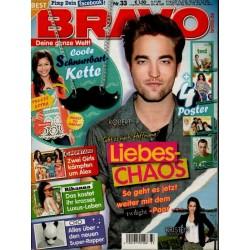 BRAVO Nr.33 / 8 August 2012 - Liebes-Chaos Robert & Kristen