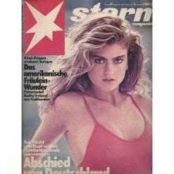 stern Heft Nr.37 / 3 September 1981 - Kathy Ireland
