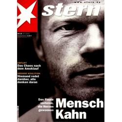 stern Heft Nr.28 / 3 Juli 2002 - Mensch Kahn