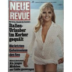 Neue Revue Nr.37 / 12 September 1971 - Geheimnisse des Sex