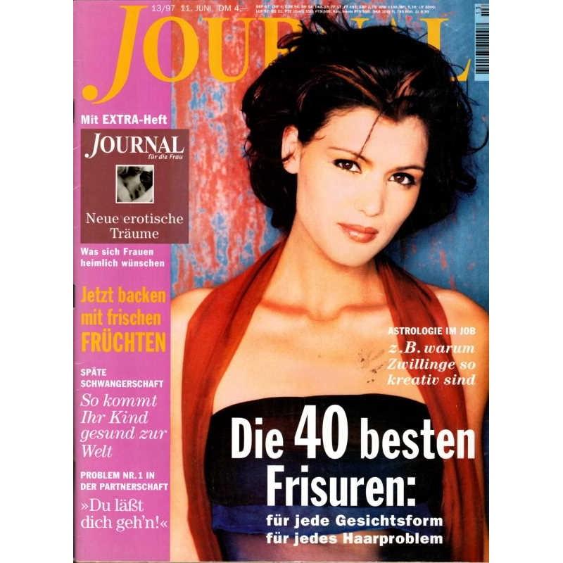 Journal Nr.13 / 11 Juni 1997 - Die 40 besten Frisuren