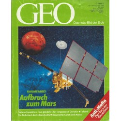 Geo Nr. 9 / September 1992 - Aufbruch zum Mars