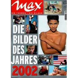max Nr.1 / 5 Dezember 2002 - Die Bilder des Jahres 2002