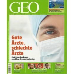 Geo Nr. 5 / Mai 2009 - Gute Ärzte, schlechte Ärzte