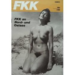 FKK Nr.3 / März 1981 - FKK an Nord und Ostsee