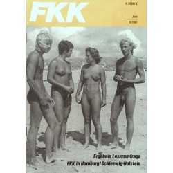 FKK Nr.6 / Juni 1981 - Urlaubsgespräche am Strand