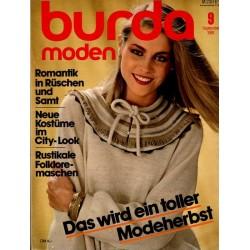 burda Moden 9/September 1981 - Toller Modeherbst