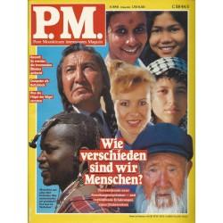 P.M. Ausgabe Juni 6/1991 - Wie verschieden sind wir?