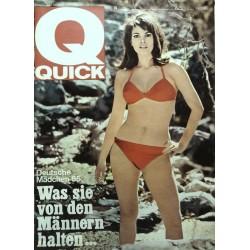 Quick Heft Nr.19 / 9 Mai 1965 - Deutsche Mädchen