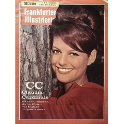 Frankfurter Illustrierte Nr.15 / 15 April 1962 - Claudia Cardinale
