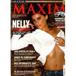Maxim Oktober 2007 - Nelly Furtado