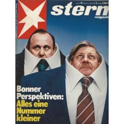 stern Heft Nr.36 / 27 August 1981 - Alles eine Nummer kleiner