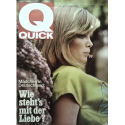 Quick Heft Nr.18 / 2 Mai 1965 - Mädchen in Deutschland