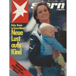 stern Heft Nr.22 / 23 Mai 1990 - Neue Lust aufs Kind