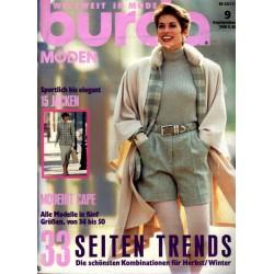burda Moden 9/September 1993 - Sportlich bis Elegant