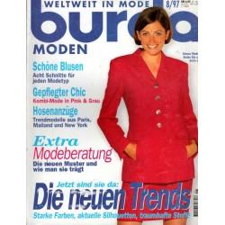 burda Moden 8/August 1997 - Gepflegter Chic