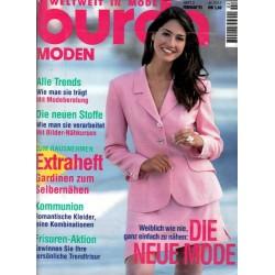 burda Moden 2/Februar 1995 - Weiblich wie nie