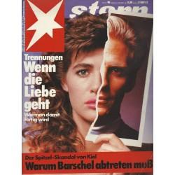 stern Heft Nr.40 / 24 September 1987 - Wenn die Liebe geht