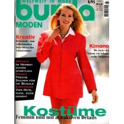 burda Moden 8/August 1995 - Kostüme