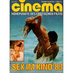 CINEMA Sonderband Nr. 7 / 1983 - Sex im Kino