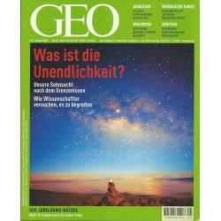 Geo Nr. 1 / Januar 2002 - Was ist die Unendlichkeit?