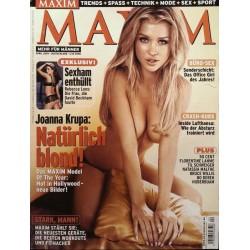 Maxim April 2005 - Joanna Krupa