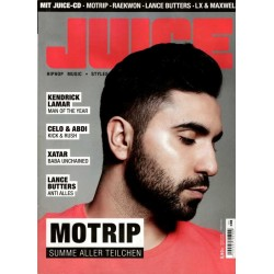 JUICE Nr.167 Mai/Juni 2015 & CD 128 - Motrip