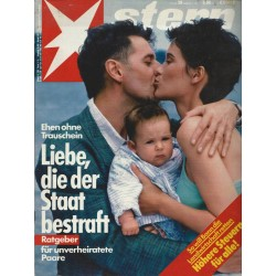 stern Heft Nr.29 / 9 Juli 1987 - Liebe, die der Staat bestraft